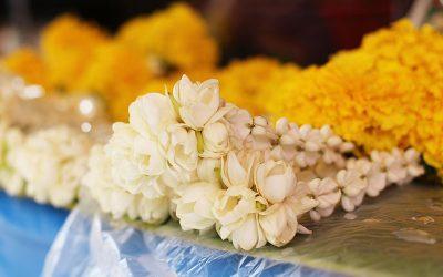 タイの花飾り ~プアンマーライ~