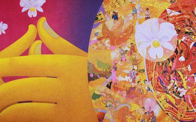 タイを表す6つの感覚をアートに ~Beyond Bliss : A journey through AYATANA~