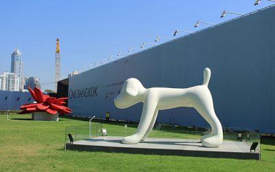 奈良美智さんの犬がバンコクに ~バンコクアートビエンナーレ @One Bangkok~