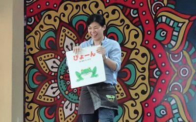 「子どもの笑顔は身近なおとなが元気に笑うことから」 ~マレットファン・松尾久美さん~ web版